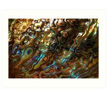 Abstract Shell Art Print
