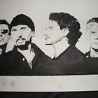 U2 by Colin  Laing
