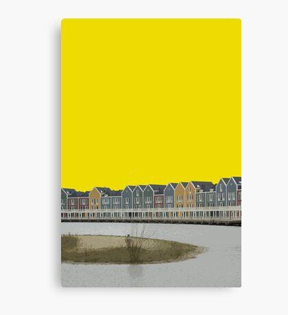 Houten Canvas Print
