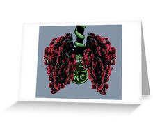 Pohutukawa Tree Lungs, from the New Zealand Forest Greeting Card