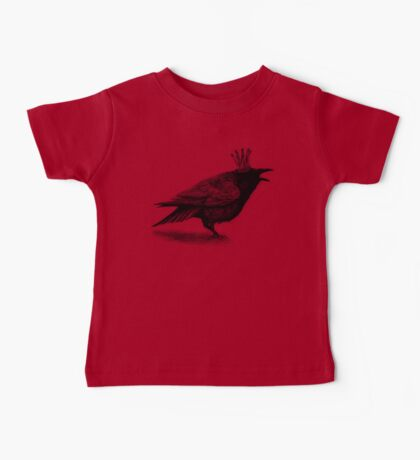 Crow in crown Baby Tee