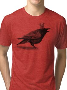 Crow in crown Tri-blend T-Shirt