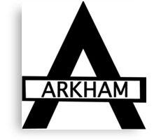 Batman : Arkham Asylum Canvas Print