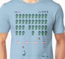Zombie Unicorn Invaders Unisex T-Shirt
