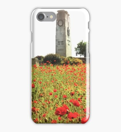 Poppy's by cenotaph  iPhone Case/Skin
