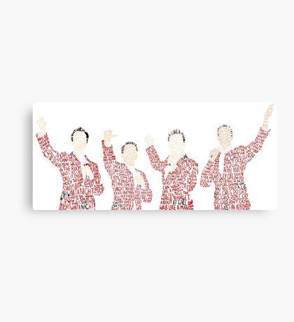 Jersey Boys Canvas Print