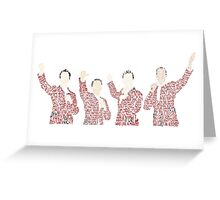 Jersey Boys Greeting Card