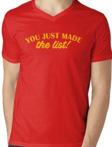 Chris Jericho - You Just Made The List Mens V-Neck T-Shirt