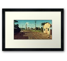 Get Away Ya Mongrel  Framed Print