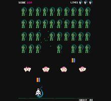 Zombie Unicorn Invaders T-Shirt