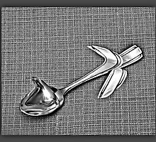 Bonita's SPOON ART AND EFFECT PICTURE MADE FROM THE ONE SINGLE SPOON by ✿✿ Bonita ✿✿ ђєℓℓσ