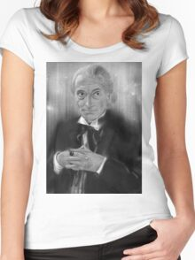 First Doctor Who Women's Fitted Scoop T-Shirt