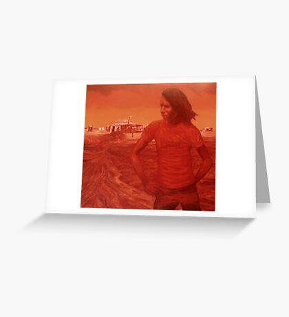 LAND Greeting Card