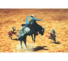 Rodeo Heroes Photographic Print