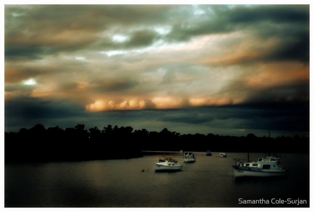 Quiet Moorings, Warneet by Samantha Cole-Surjan