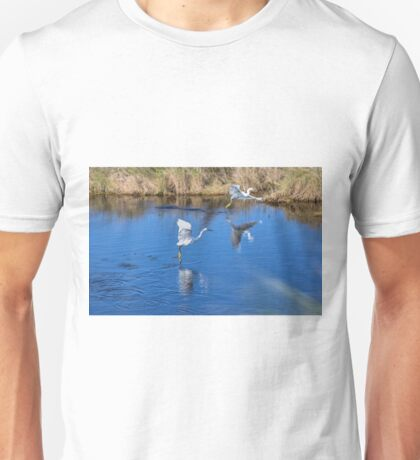 Feathered Fishermen Unisex T-Shirt