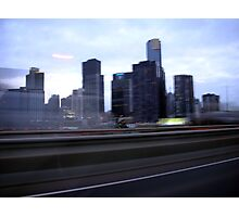 Melbourne view Photographic Print