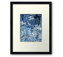 Ebb and flow across lost ice paradise Framed Print