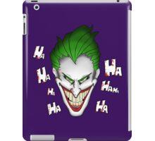 The Joker Laughs iPad Case/Skin