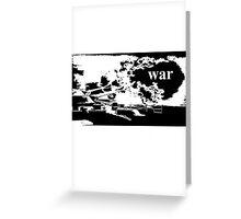 warship  Greeting Card