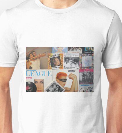 1980's - Vinyl Collection Unisex T-Shirt