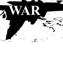 WAR PLANE Sticker