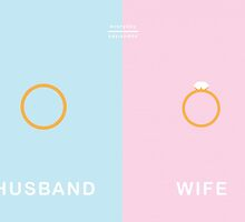 Everyday Opposites - Husband & Wife by Emilia  Buggins