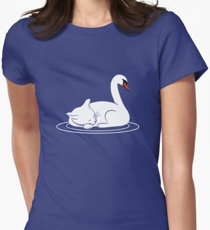 Mr Mittens Had the Most Peculiar Dream Womens Fitted T-Shirt