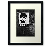 George Best The One Framed Print