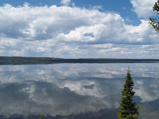 Lewis Lake Mirror by CraigL