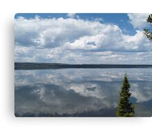 Lewis Lake Mirror Canvas Print