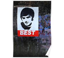 George Best Portraiture  Poster