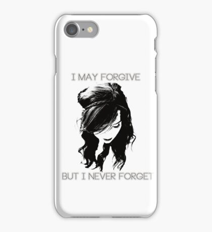 I Never Forget iPhone Case/Skin