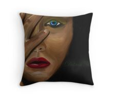 a prayer for deliverance Throw Pillow
