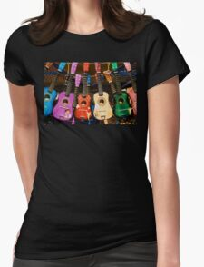 Musical Paradise Womens Fitted T-Shirt