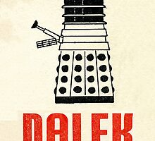 Retro Dalek by Mystalope