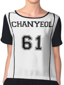 Exoplanet Inspired - Chanyeol 61 Chiffon Top