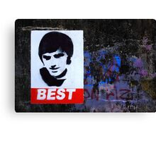 George Best Wall Art Canvas Print