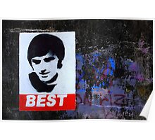 George Best Wall Art Poster