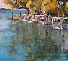 Wynnum Creek Entrance by Paul  Milburn