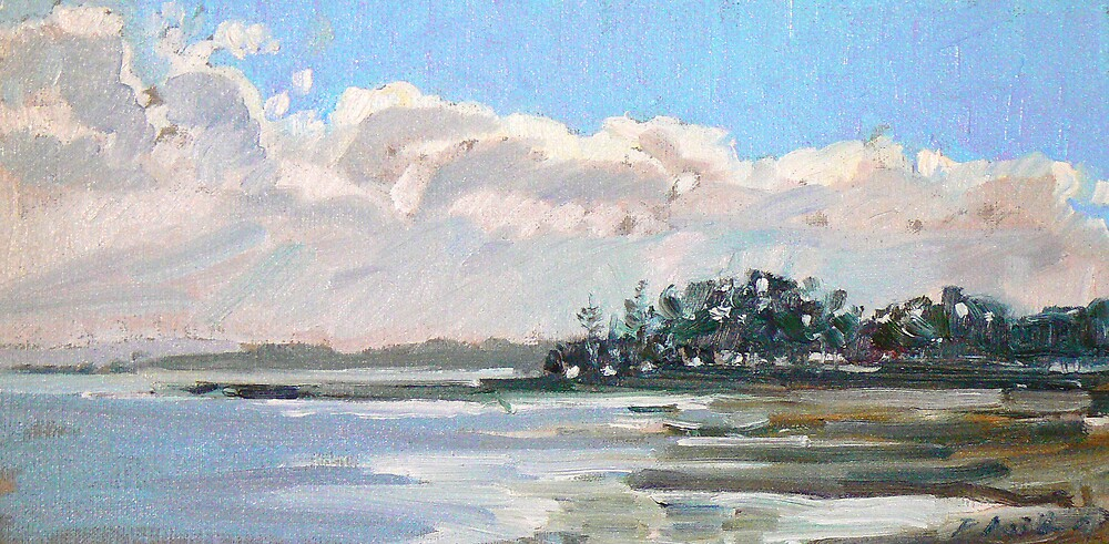 Afternnon Light on the Bay by Paul  Milburn
