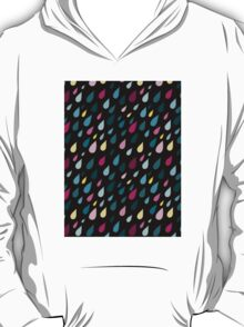 Rainy day pattern in black  T-Shirt