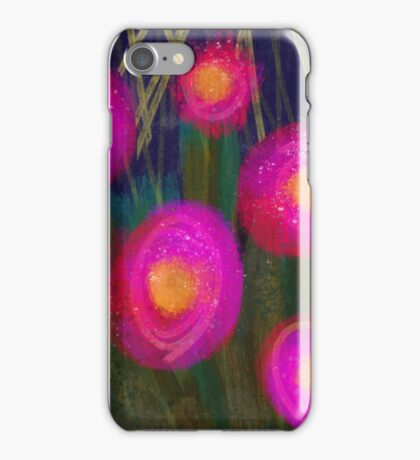 "Art Print ""Vivacity"" Floral Designs iPhone Case/Skin"