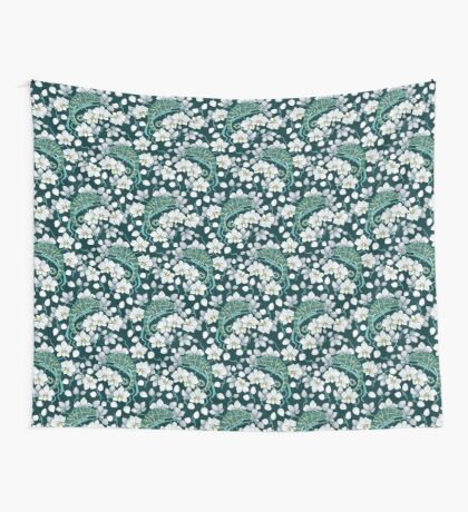chameleons and orchids  Wall Tapestry