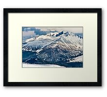 Snow Palaces of Trail Ridge Road Framed Print