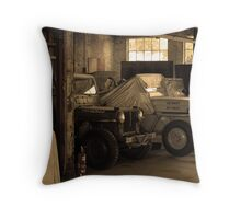 Retired, But Alive Throw Pillow