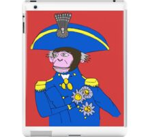 Admiral Monkey iPad Case/Skin