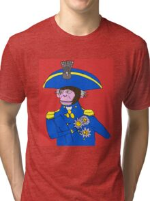 Admiral Monkey Tri-blend T-Shirt