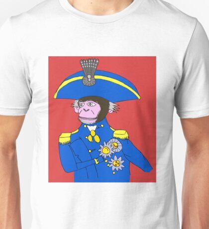 Admiral Monkey Unisex T-Shirt