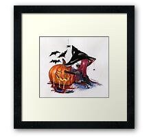Halloween: Wicked Witch Framed Print